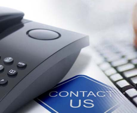 You can contact us online at any time.